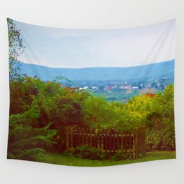 Amherst, Massachusetts Valley Wall Tapestry