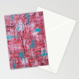 Red Tags & Throws Stationery Cards