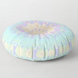Rainbow Kaleidoscope Floor Pillow