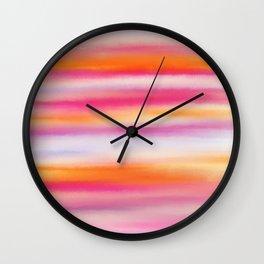 Stripes II- A Pattern Wall Clock