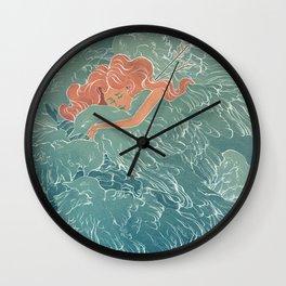 Fallen Angels Wall Clock