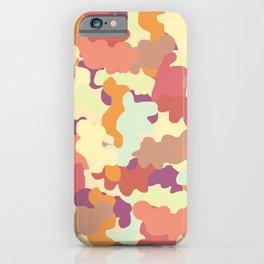 Camo in Rust, Fall Colors. iPhone Case