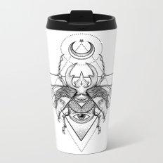 Occult Beetle II Metal Travel Mug