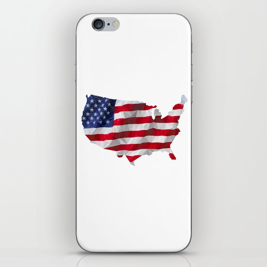 The Star-Spangled American Flag iPhone & iPod Skin