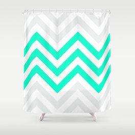 Chevronia V Shower Curtain