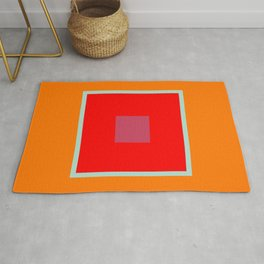 LOVE (color-coded letters) Rug