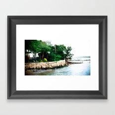 City Island 2 Framed Art Print