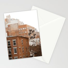 Travel Photography: New York City, Buildings Stationery Cards