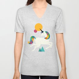 To be a unicorn Unisex V-Neck