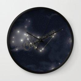 Capricorn Constellation - Zodiac Wall Clock