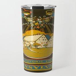 Vintage poster - Ephrata Travel Mug
