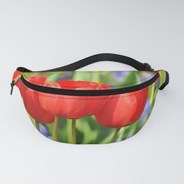 RED TULIPS Fanny Pack