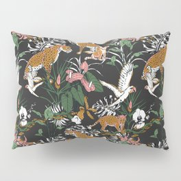 Leopards at night Pillow Sham