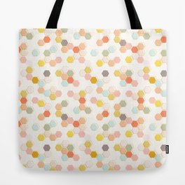 Honeycomb - Sweet Cream Tote Bag