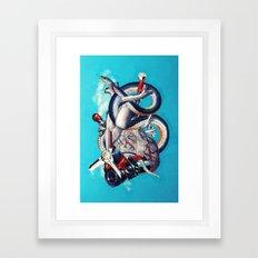 Heart of Illuminati Framed Art Print