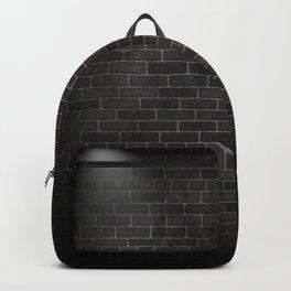 black wall Backpack