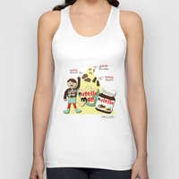 nutella Tank Tops featuring I {❤} NUTELLA by lilycious