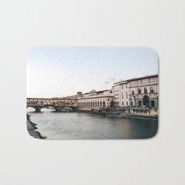 Ponte Vecchio in Florence Bath Mat