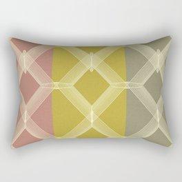 Geometric Falls Rectangular Pillow