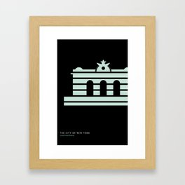 New York Skyline: Grand Central Terminal Framed Art Print