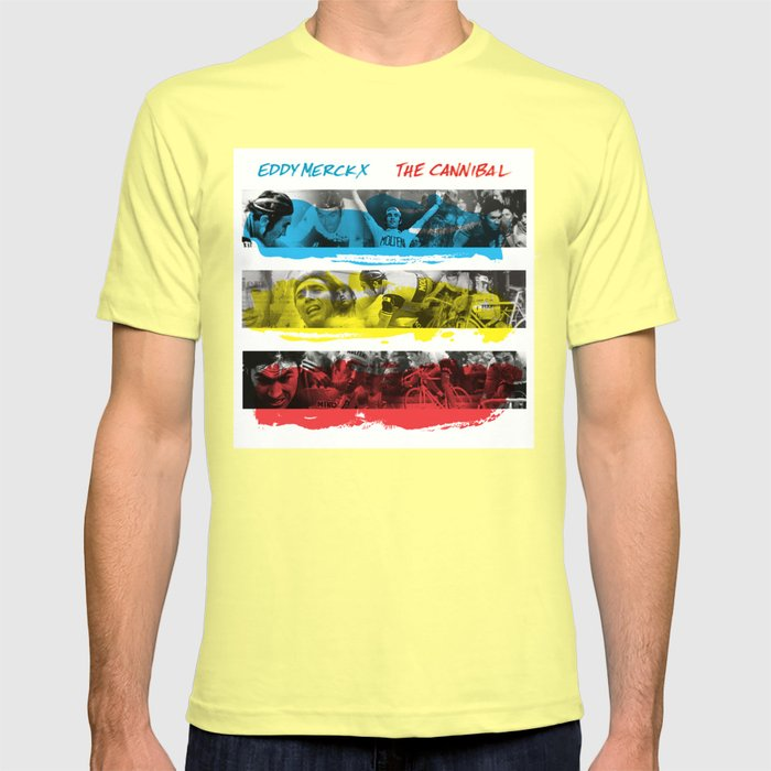 b07a22ac7 Eddy Merckx - The Cannibal T-shirt by trx0x