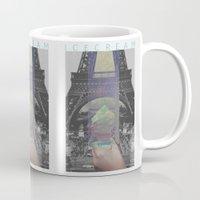icecream Mugs featuring Icecream by john muyargas