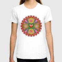 emoji T-shirts featuring Emoji Mandala by NOLAN DEMPSEY