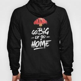 Go Big or Go Home Mario Inspired Smash Art Hoody