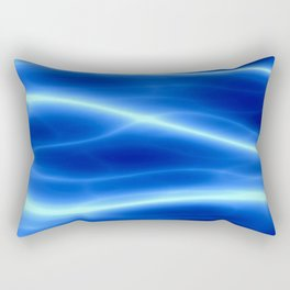 Blue flame Rectangular Pillow