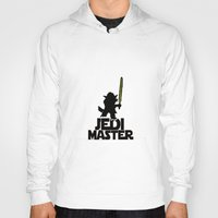 jedi Hoodies featuring JEDI MASTER by G3no