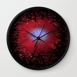 Lily Among Thorns Wall Clock