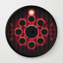 The Asteroid Belt - Asteroid Family Wall Clock
