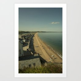 Torcross Beach  Art Print