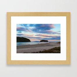September Sunset Framed Art Print
