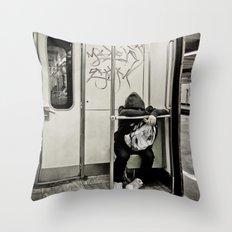 Keep Away Throw Pillow