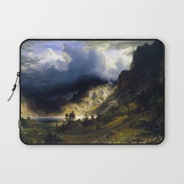 A Storm In The Rocky Mountains Laptop Sleeve