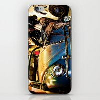 volkswagon iPhone & iPod Skins featuring Bug Life by sysneye