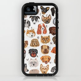 Doggy A - Z iPhone Case