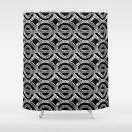Circle Row Shower Curtain
