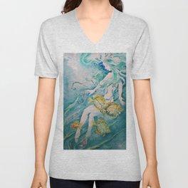 Fathom Mermaid Unisex V-Neck