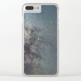 Milky way Antares Region wide angle view Clear iPhone Case