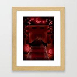 Horror Shrine Framed Art Print