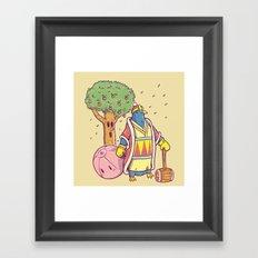 King Dedede Framed Art Print