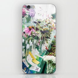 Floral Competition   iPhone Skin