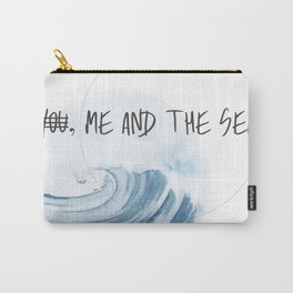 Me and The Sea Carry-All Pouch