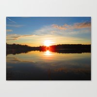 big bang Canvas Prints featuring Big Bang by Alex Call