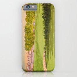 Baltusrol Golf Course 18th Hole iPhone Case