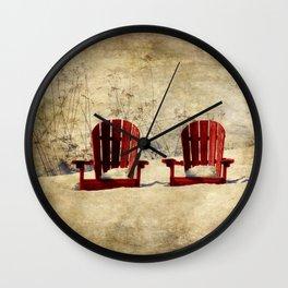 Wanting Spring So Wall Clock
