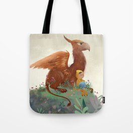 My Pet Griffon Tote Bag