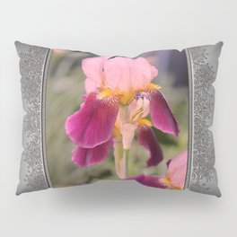 Tall Bearded Iris named Indian Chief Pillow Sham